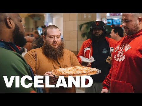 Action Bronson and Squad Make A Stuffed Sbarro's Spinach Pie