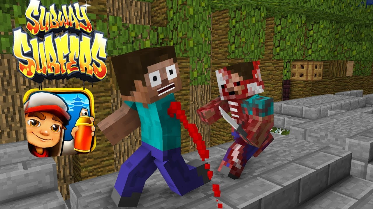 Monster School: Subway Surfers Zombie Apocalypse - Minecraft Animation
