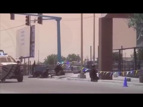 Federales en acción (balacera en Reynosa) 30 abril 2014