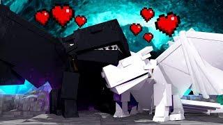 Minecraft: CASAL DE DRAGÕES ( FÚRIA DA NOITE E FÚRIA DA LUZ ) - COMO TREINAR SEU DRAGÃO  ‹ LOKI ›