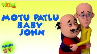 Download Motu Patlu Baby John- Motu Patlu in Hindi - 3D Animation Cartoon -As on Nickelodeon 3Gp Mp4