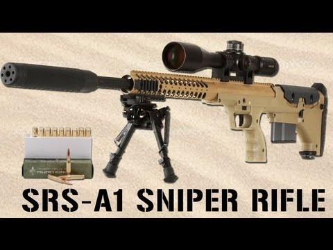 SRS-A1 Sniper Rifle by Desert Tech
