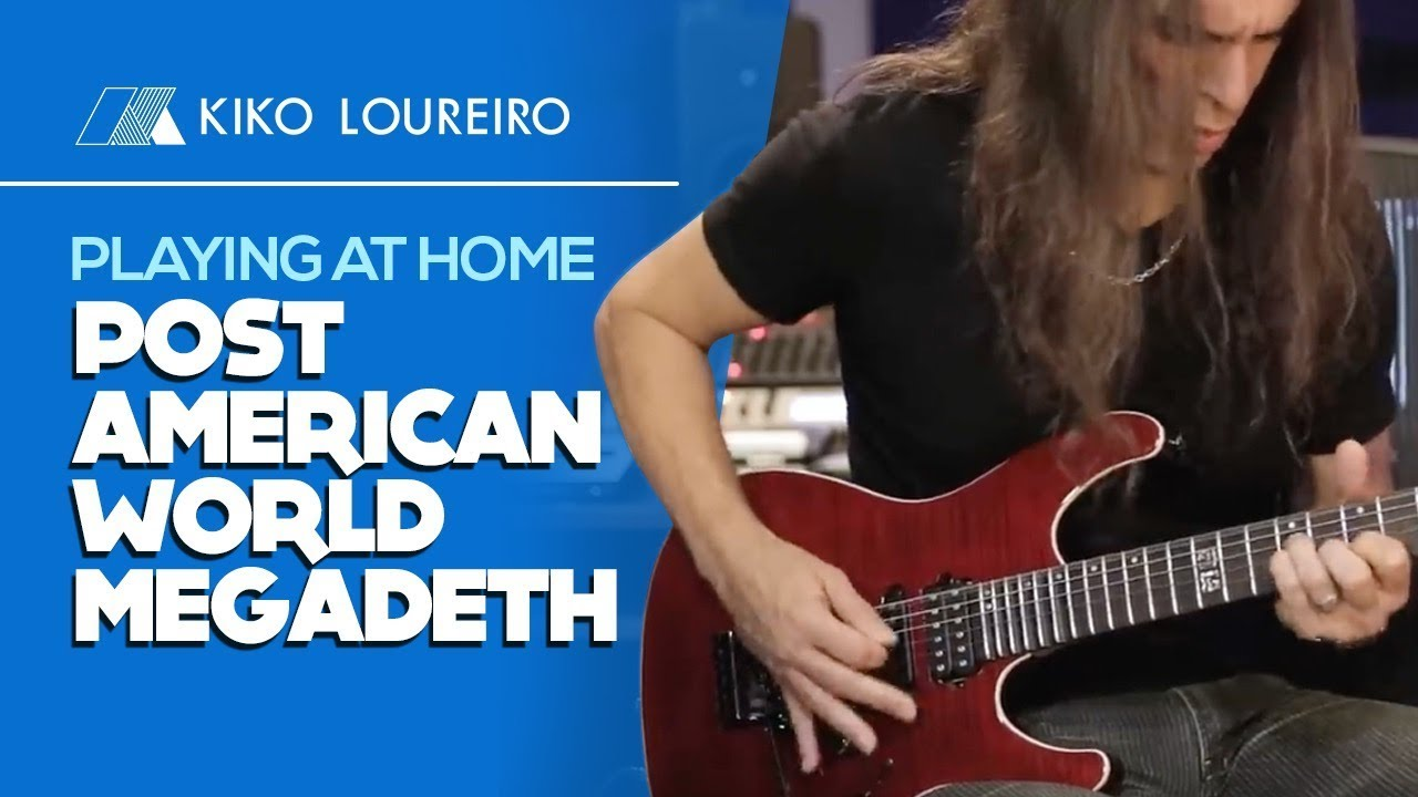 "Kiko Loureiro - MEGADETH""Post American World""のギター演奏映像を公開 thm Music info Clip"