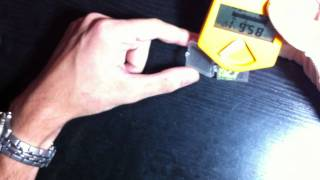 RADIOACTIVE thorium/autunite Uranium measuring w/ Gamma Scout