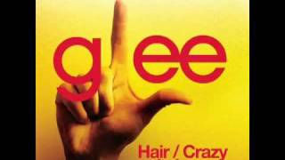 Watch Glee Cast Hair  Crazy In Love video