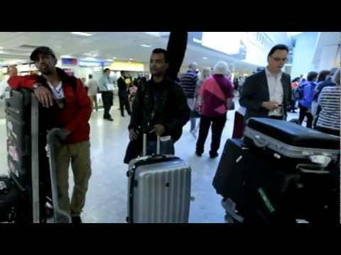 Teddy Afro Arrives Heathrow Airport London 02/08/2012, Concert Day 04/08/12