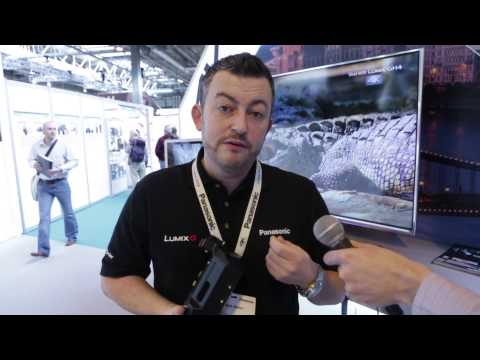 Panasonic GH4 at The Photography Show 2014