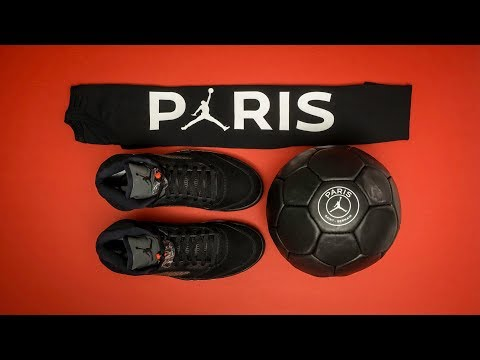 UNBOXING: Limited Edition Air JORDAN x PARIS SAINT-GERMAIN Media Kit
