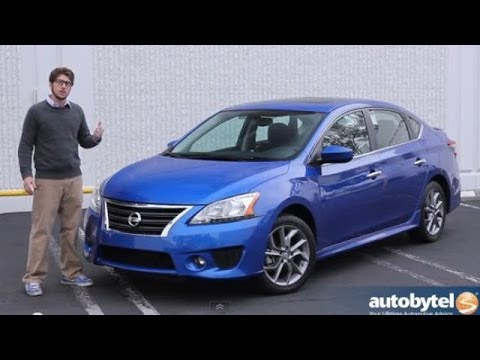 2014 Nissan Sentra Sr Compact Car Video Review Youtube