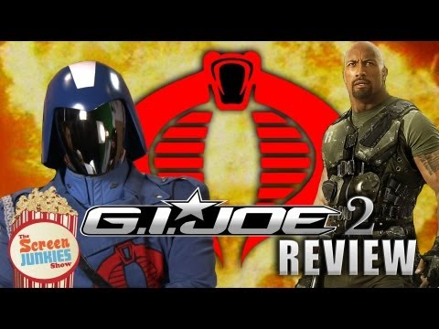 Cobra Commander Reviews G.I. Joe: Retaliation