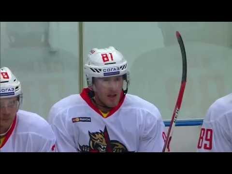 Kunlun first KHL goal scored by Sean Collins