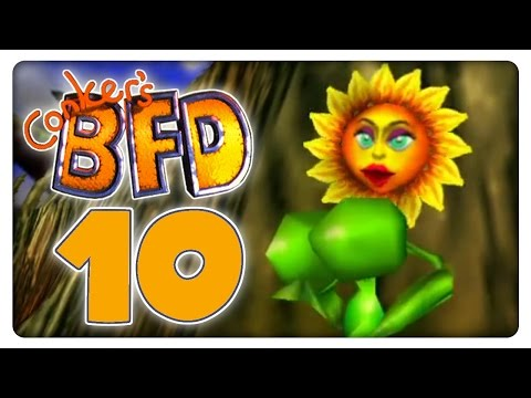 Let's Play Conker's Bad Fur Day #010 Boobs Bouncing video