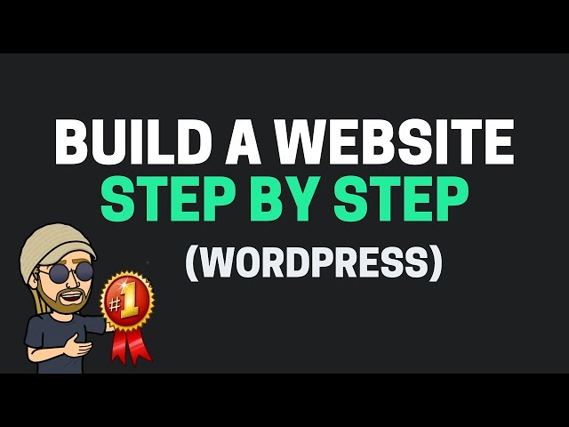 How To Build A Website with WordPress - Super Easy Tutorial!