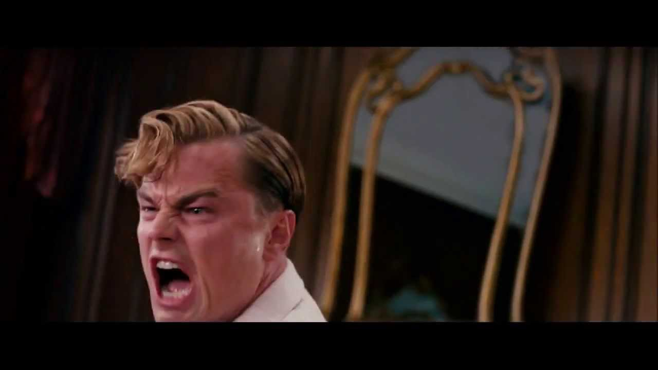 The Great Gatsby- &quo... Shut Your Face Gif