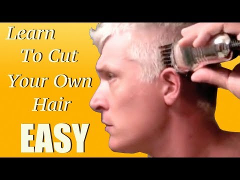 Learn how to give yourself a haircut in 5 minutes!!