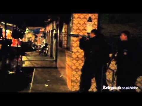Brazilian police invade Rio de Janeiro's Rochina slum
