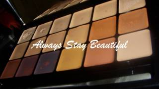 Graftobian Hi-Def Glamour Creme Super Palette Review and Tutorial