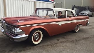 Riding In A 1959 Edsel Ranger