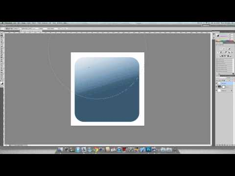 Adobe Photoshop Tutorial - iPhone App icon