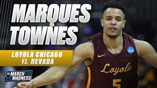 Loyola Chicago's Marques Townes powers the Ramblers to victory in the Sweet 16