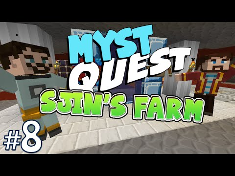 Minecraft: Myst Quest #8 - Sjin's Farm (yogscast Complete Mod Pack) video