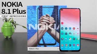 Nokia 8.1 Plus (X71) Official Look - Full Specifications, Price, Review, Features and Release Date