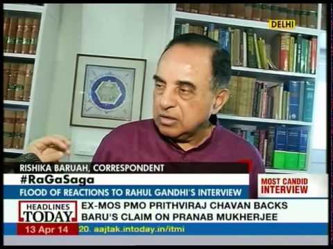 Rahul should be renamed Muhammad bin Tughluq: Subramaniam Swamy