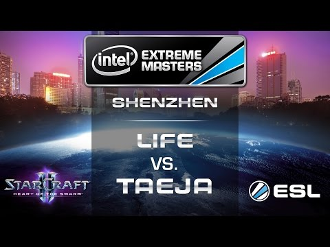 Life vs. Taeja - ZvT - Group D Decider - IEM Shenzhen - StarCraft 2
