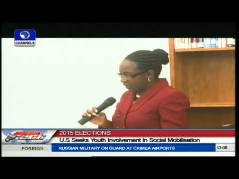 2015 Elections: U.S. Urges Nigerian Youths To Be More Involved