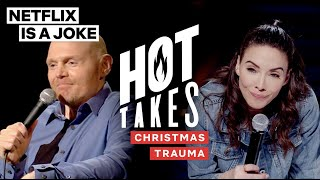 Bill Burr & Whitney Cummings Tell Traumatic Christmas Stories | Netflix Is A Joke