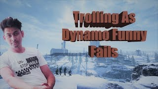 Trolling As Fake Dynamo Funny Fails | Best troll fails Ever | PUBG Lite Funny moments