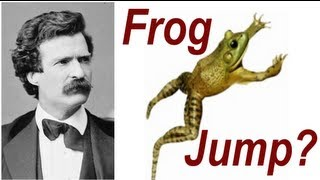 The History Of The Calaveras Frog Jumping Competition - Mark Twain Frog Jump