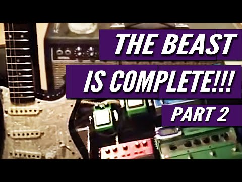 Kelly Richey's Guitar Rig -- The Beast Complete -- Part 2