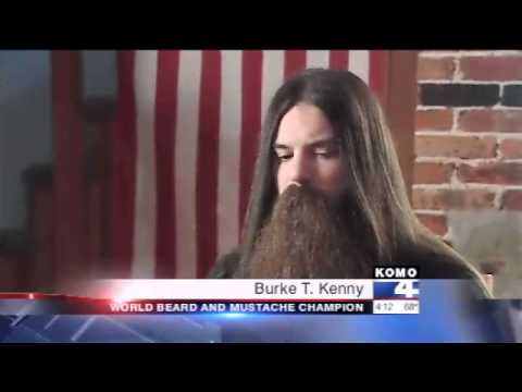 ABC s Shomari Stone Exclusive: 2011 World Beard and Mustache Champion (7/27/11)