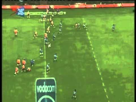 Gerhard vd Heever scores against the Lions - Super Rugby 2011 Rd.1