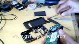 Q Mobile E950 Disassembly video speaker changed