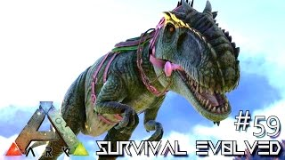 ARK: Survival Evolved - TAMING GIGANOTOSAURUS SOLO - Lvl 200 GIGA !!! [Ep 59] (Server Gameplay)