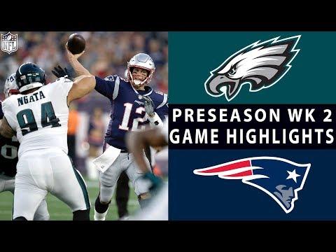 Eagles vs. Patriots Highlights   NFL 2018 Preseason Week 2