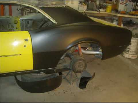 68 Camaro Ss Rs 396 Restoration Part 3 Youtube