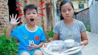 Trò Chơi Bé Bị Đau Bụng - Dạy Bé Rửa Tay Trước Khi Ăn - Bé Nhím TV - Đồ Chơi Trẻ Em Thiếu nhi