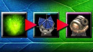 Эволюция виспов в TD Warcraft 3