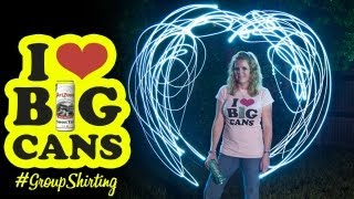Group Shirting for AriZona Beverages (I Heart Big Cans)