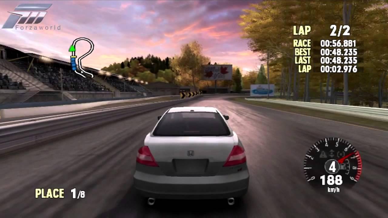 Forza Motorsport 1 2004 Honda Accord Coupe Ex Maple