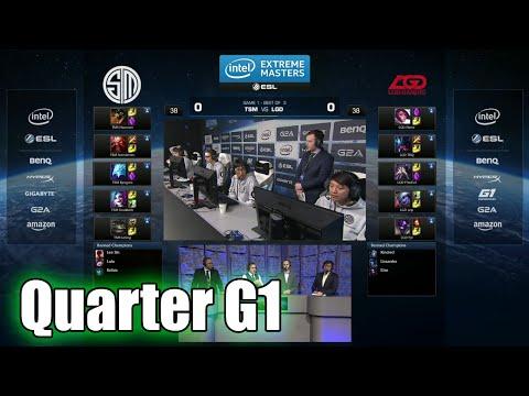 TSM vs LGD Gaming | Game 1 Quarter Finals IEM San Jose LOL 2015 | Team Solomid TSM vs LGD G1