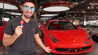 Taking Delivery of my Ferrari 458 !!!