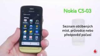 Nokia C5-03 - OVI mapy