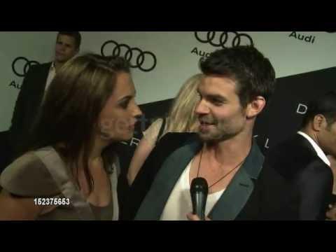 Rachael Leigh Cook & Daniel Gillies interview at Audi Emmy Week 2012/9/16