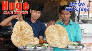 Unlimited Chole Bhature Eating Challenge   Huge Chola Bhatura   Food Challenge India
