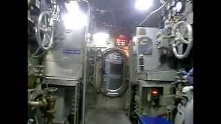 A Tour of Submarine USS Becuna