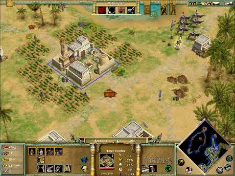 Lets play Age of Mythology Part 54: The Jackal`s Stronghold 1